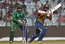 Lahiru Thirimanne turns one to the on side, Pakistan v Sri Lanka, World T20 warm-ups, Kolkata, March 14, 2016