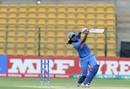 Vellaswamy Vanitha lofts ball into the off side, India v Bangladesh, Women's World T20, Group B, Bangalore, March 15, 2016