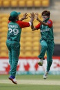 Fahima Khatun picked up two wickets, India v Bangladesh, Women's World T20, Group B, Bangalore, March 15, 2016