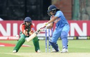 Veda Krishnamurthy made an unbeaten 36, India v Bangladesh, Women's World T20, Group B, Bangalore, March 15, 2016