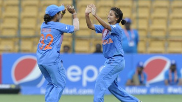 Poonam Yadav picked up two wickets