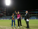 Suzie Bates and Shashikala Siriwardene at the toss, New Zealand v Sri Lanka, Women's World T20 2016, Group A, Delhi, March 15, 2016