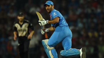 MS Dhoni made 30