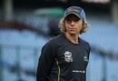 New Zealand Women's coach Haidee Tiffen looks on, New Zealand v Sri Lanka, Women's World T20 2016, Group A, Delhi, March 15, 2016