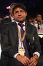 Vijay Dahiya at an IPL ceremony, Mumbai, April 23, 2010