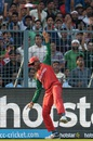 Soumya Sarkar pulled off a stunner to remove Mohammad Hafeez, Bangladesh v Pakistan, World T20 2016, Group 2, Kolkata, March 16, 2016