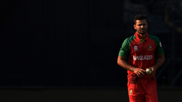 Mashrafe Mortaza prepares to bowl