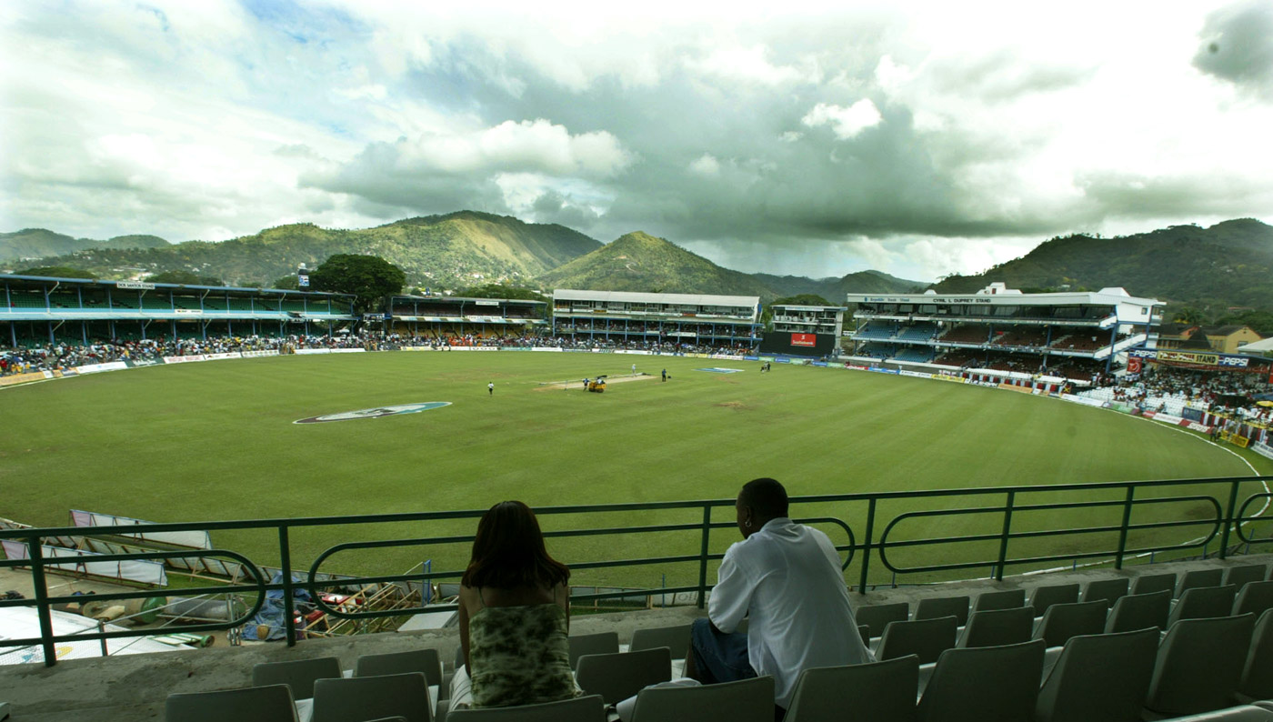 A general view of the Queen's Park Oval