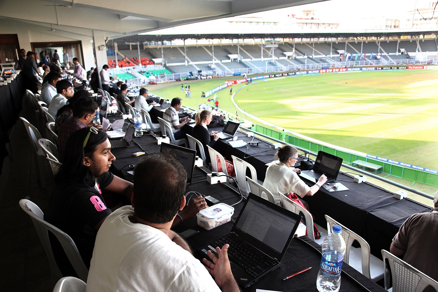 The audiences they cater to may have widened but press boxes, even today, aren't spaces where diversity thrives