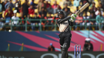Martin Guptill smashes one down the ground