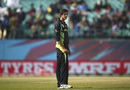 Ashton Agar cuts a dejected figure after being hit for a six, Australia v New Zealand, World T20 2016, Group 2, Dharamsala, March 18, 2016