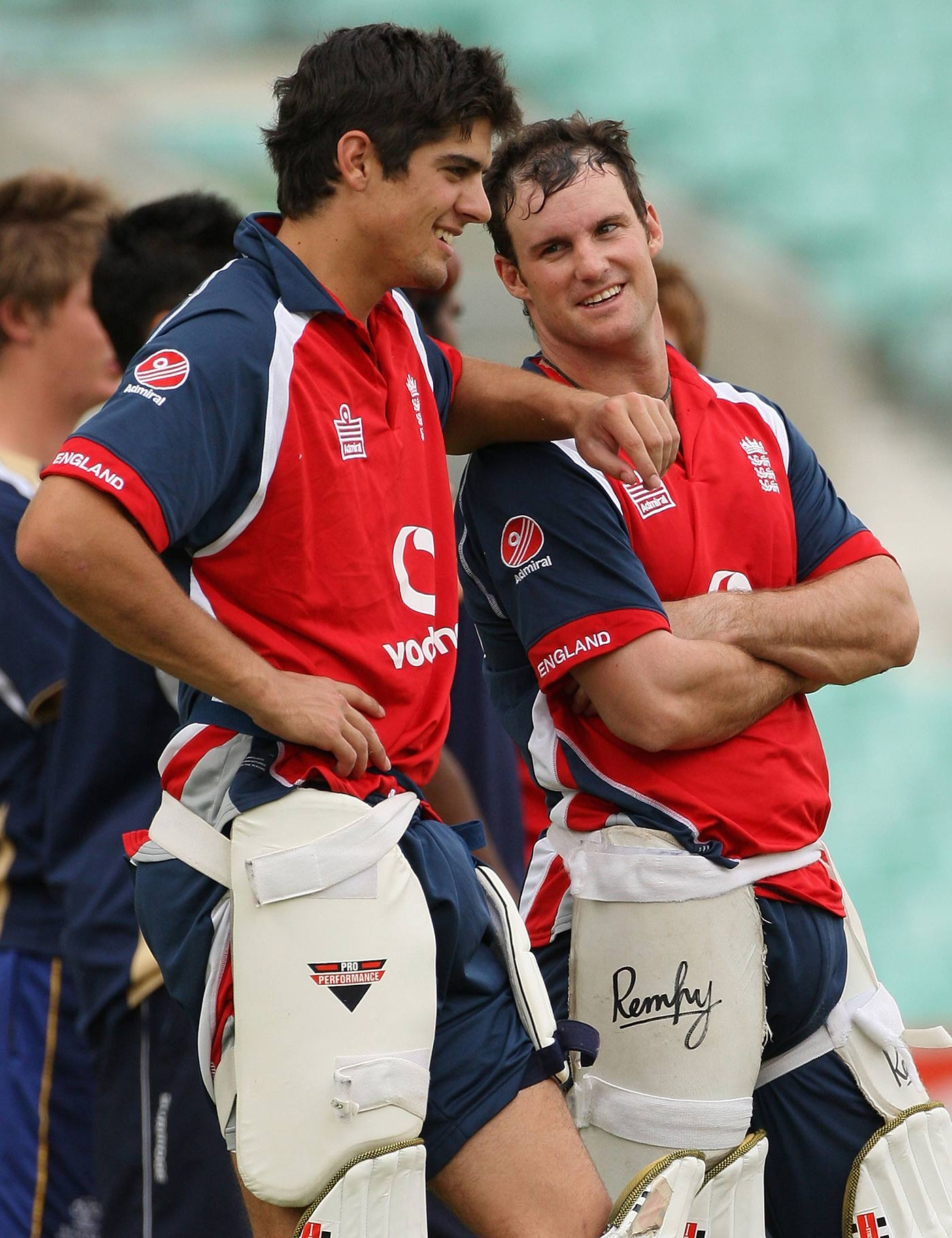 Andrew Strauss thought batting partner Alastair Cook stood out for not being afraid to contribute to team discussions even as a newbie