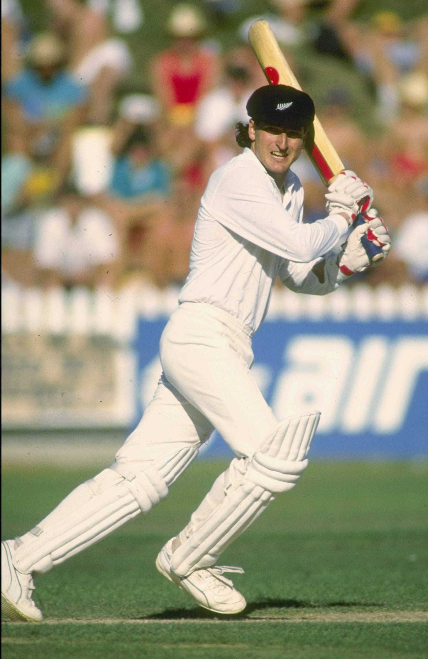 Ken Rutherford: when he heard he had been picked for his first Test, he went onto a balcony and cried