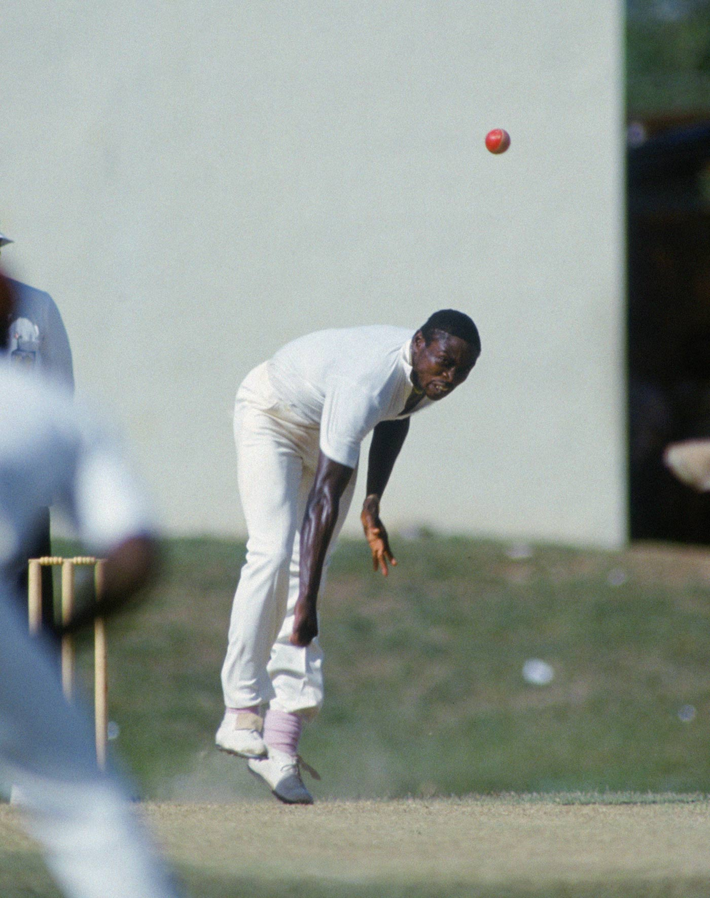 Fun or fear? Facing the likes of Patrick Patterson was among the travails debutants in the '80s had to look forward to