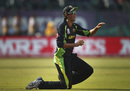 Ashton Agar is jubilant after taking a catch, Australia v New Zealand, World T20 2016, Group 2, Dharamsala, March 18, 2016