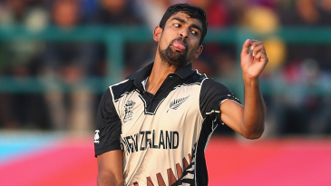 Ish Sodhi bowled a stifling spell of 4-0-14-1