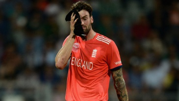 Reece Topley leaked 33 runs in his two overs