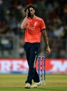 Reece Topley leaked 33 runs in his two overs, England v South Africa, World T20 2016, Group 1, Mumbai, March 18, 2016