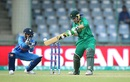 Pakistan opener Nahida Khan cuts the ball, India v Pakistan, Women's World T20, Group B, Delhi, March 19, 2016