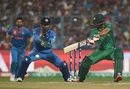 Ahmed Shehzad executes a cut shot, India v Pakistan, World T20 2016, Group 2, Kolkata, March 19, 2016