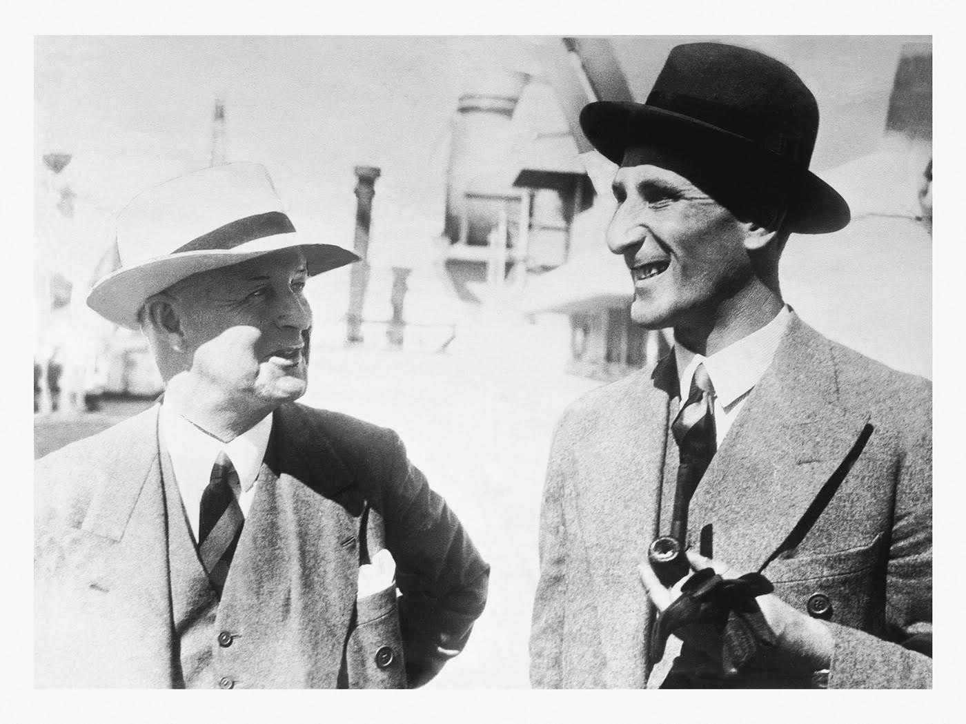 Pelham Warner and Douglas Jardine: not fans of Australiana
