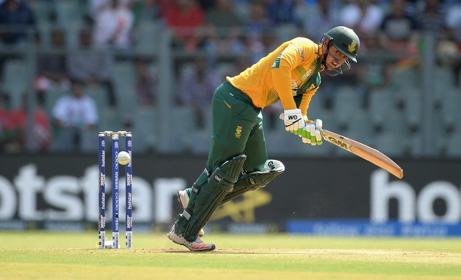 But with Quinton de Kock (45 off 31) on song, South Africa recovered quickly