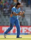 Shapoor Zadran is pumped after dismissing Hashim Amla, Afghanistan v South Africa, World T20 2016, Group1, Mumbai, March 20,2016