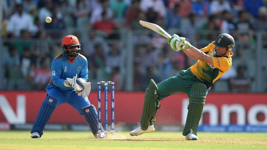 But with AB de Villiers in rampaging form, the heat quickly shifted back to Afghanistan
