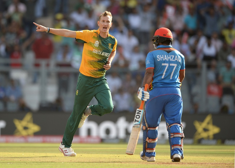 Shahzad's burst was ended by Chris Morris, who brought South Africa back with another quick wicket