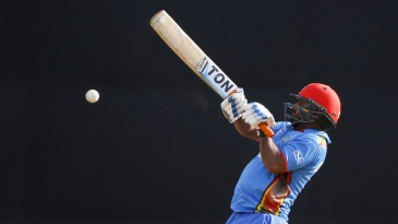 Mohammad Shahzad plays the upper cut