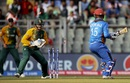 Noor Ali Zadran is stumped by Quinton de Kock, Afghanistan v South Africa, World T20 2016, Group 1, Mumbai, March 20,2016