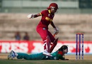Jahanara Alam nearly runs out Stacy-Ann King, Bangladesh v West Indies, Women's World T20, Group B, Chennai, March 20, 2016