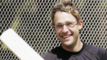 Daniel Vettori at the Eden Park nets
