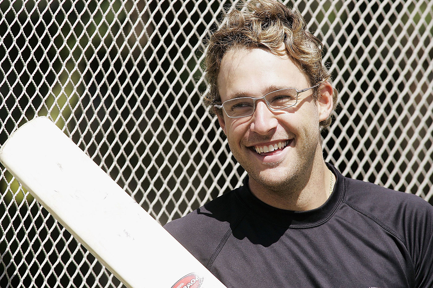 Daniel Vettori at the Eden Park nets