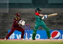 Nigar Sultana pulls the ball, Bangladesh v West Indies, Women's World T20, Group B, Chennai, March 20, 2016