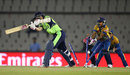 Clare Shillington loses her stumps, Ireland v Sri Lanka, Women's World T20, Group A, Mohali, March 20, 2016