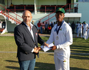Shimron Hetmyer was named Man of the Match for his 107 in the first innings, Guyana v Jamaica, Regional 4-day Tournament, 3rd day, Providence, March 20, 2016