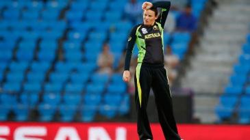 Erin Osborne leaked 23 runs in her 3.2 overs