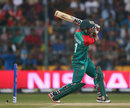 Sabbir Rahman looks to go down the ground, Australia v Bangladesh, World T20, Group 2, Bangalore, March 21, 2016