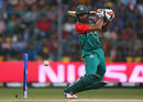Mahmudullah lays into a cut, Australia v Bangladesh, World T20, Group 2, Bangalore, March 21, 2016