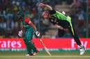 John Hastings in his delivery stride, Australia v Bangladesh, World T20, Group 2, Bangalore, March 21, 2016
