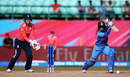 Mithali Raj executes a textbook cover drive, India v England, Group B, Women's World T20, Dharamsala, March 22, 2016