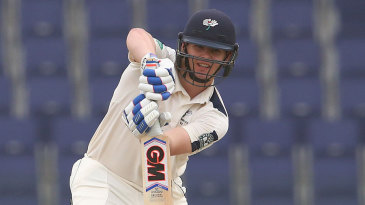 Alex Lees made 86 in Yorkshire's second innings