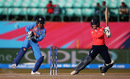 Tammy Beaumont cuts on her way to a brisk 20, India v England, Group B, Women's World T20, Dharamsala, March 22, 2016