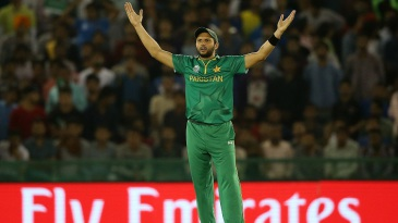 Shahid Afridi had a few moments of frustration as captain
