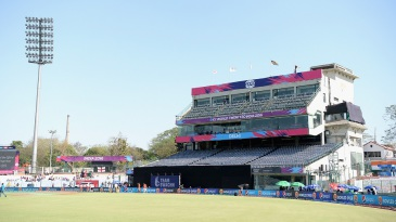 A general view of the RP Mehra Block at the Feroz Shah Kotla, which remains shut