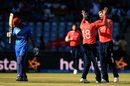 Gulbadin Naib walks back after he was dismissed by David Willey, Afghanistan v England, World T20 2016, Group 1, Delhi, March 23, 2016