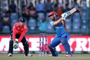 Samiullah Shenwari made 22, Afghanistan v England, World T20 2016, Group 1, Delhi, March 23, 2016