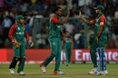 Al-Amin Hossain picked up two in two in the 16th over, India v Bangladesh, World T20 2016, Group 2, Bangalore, March 23, 2016