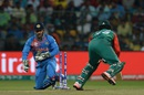 MS Dhoni stumps Tamim Iqbal , India v Bangladesh, World T20 2016, Group 2, Bangalore, March 23, 2016